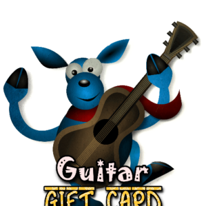 גיפט-קארד גיטרה